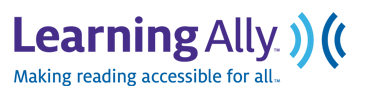 Learning Ally Making reading accessible for all logo
